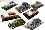 Модели машин,  производства Деагостини,  масштаб 1:43